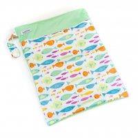 Bobánek Nepromokavá taška 1 ks barevné rybičky