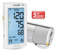 Microlife BP A7 AFIB Touch tlakoměr s dotykovým displejem