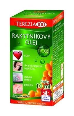 Terezia Rakytníkový olej 100% kapky 10 ml