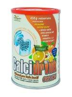 Calcidrink pomeranč nápoj 450 g
