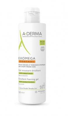 A-Derma Exomega Control zvláčňující pěnivý gel pro suchou kůži se sklonem k atopii 500 ml