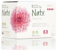 ECO by Naty Super plus dámské tampóny 15 ks