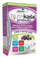 Mogador Natural Probiotic Nutrikaše Chia a černý rybíz 180 g