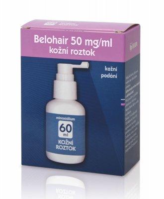 Belohair 50 mg/ml kožní roztok 60 ml