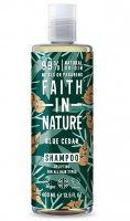 Faith in Nature Šampon Modrý cedr MAXI 400 ml