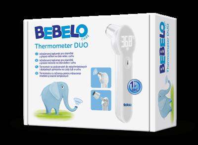 BEBELO Thermometer DUO infračervený teploměr 1 ks