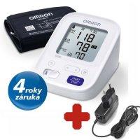 Omron M3 AC digitální tonometr + síťový zdroj