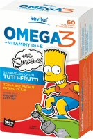 The Simpsons Omega 3 a vitaminy D a E 60 kapslí