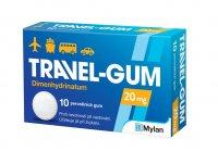 Travel-Gum 20 mg 10 žvýkaček