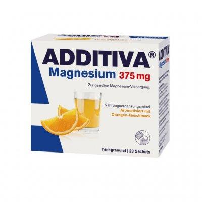 Additiva Magnesium nápoj 375 mg pomeranč 20 sáčků
