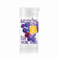 Rapeto C-Vitamin 200 mg Červené víno se sukralózou 60 tablet