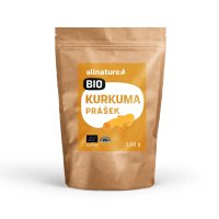 Allnature Kurkuma BIO prášek 100 g
