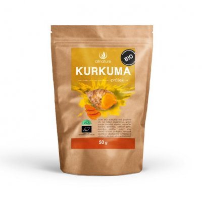 Allnature Kurkuma BIO prášek 50 g