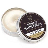 Percy Nobleman Pánský matující vosk na vlasy s jílem 100 ml