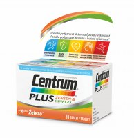 Centrum Plus Ženšen & Ginkgo 30 tablet