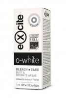 Diet esthetic Excite O-white bleach + care bělicí krém na intimní partie 50 ml