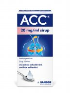 ACC 20 mg/ml sirup 100 ml