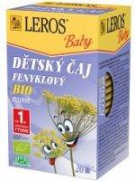 Leros Baby BIO Fenyklový dětský čaj 20x1,5 g