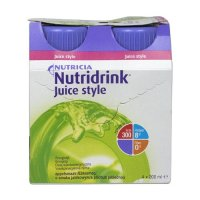 Nutridrink Juice Style jablko 4x200 ml