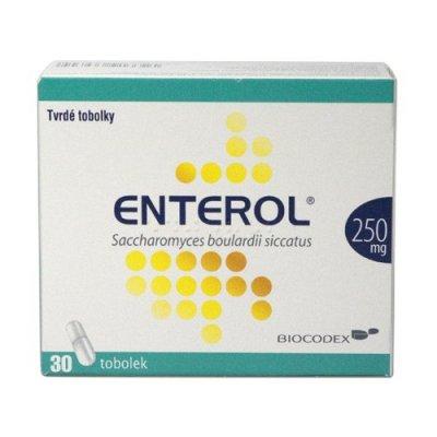 Enterol 250 mg 30 tobolek