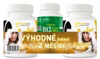 Nutricius Perfect HAIR gold methionin + biotin 2x90 tablet + dárek Vitamin B12 extra 1000 µg