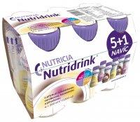 Nutridrink mix příchutí balíček 6x200 ml
