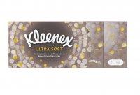 Kimberly Clark Kleenex Ultra Soft papírové kapesníčky 4-vrstvé 10 × 9 ks