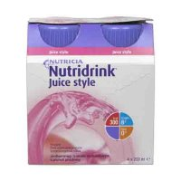 Nutridrink Juice Style jahoda 4x200 ml