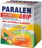 Paralen Grip Horký nápoj pomeranč a zázvor 12 sáčků