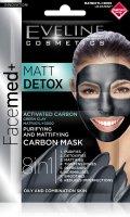 Eveline FACEMED+ Matt Detox pleťová maska 2x5 ml