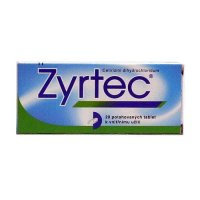 Zyrtec 10 mg 20 tablet