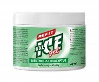 Refit ice Masážní gel s mentholem a eukalyptem 500 ml