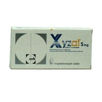 Xyzal 5 mg 14 potahovaných tablet