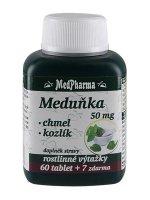 MedPharma Meduňka + Chmel + Kozlík 67 kapslí