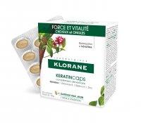 KLORANE Keratincaps Síla a vitalita 30 kapslí