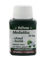 Medpharma Meduňka 50 mg + Chmel + Kozlík 37 tablet