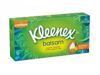 Kleenex Balsam papírové kapesníčky v krabičce 3-vrstvé 72 ks
