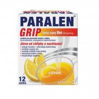 Paralen Grip Horký nápoj Neo 500 mg/10 mg 12 sáčků