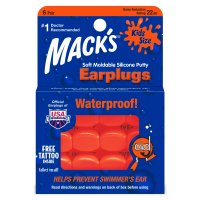 MACKS Soft Moldable Kids špunty do uší 6 párů