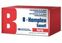 B-Komplex Sanofi forte 100 tablet