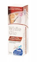 White Glo Coffee &Tea Drinkers Formula bělicí zubní pasta 150 g + kartáček