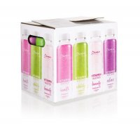 Diva's Vitamínové vody 4 druhy premium mix pack 12x400 ml