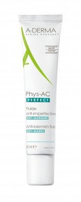 A-derma Phys-AC Perfect fluid proti nedokonalostem pleti 40 ml