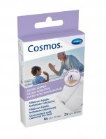Cosmos Ultra jemná náplast dělená 6 ks 25 x 72 mm + 2 ks 40 x 60 mm