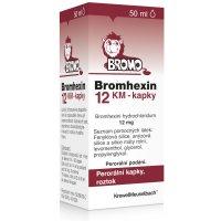 BROMHEXIN KM 12MG/ML perorální GTT SOL 50ML