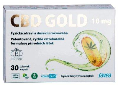 Favea CBD Gold 10mg tob.30