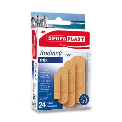 3M Spofaplast 603 Rodinný mix 24ks