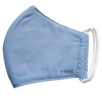 Rouška textilní 3-vrstvá modrá vel.L 1ks
