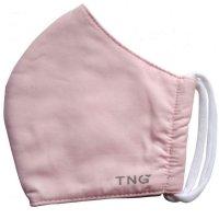 Rouška textilní 3-vrstvá růžová vel.M 1ks