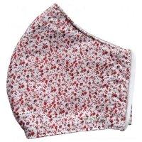 Rouška textilní 3-vrstvá květinová vel.S 1ks